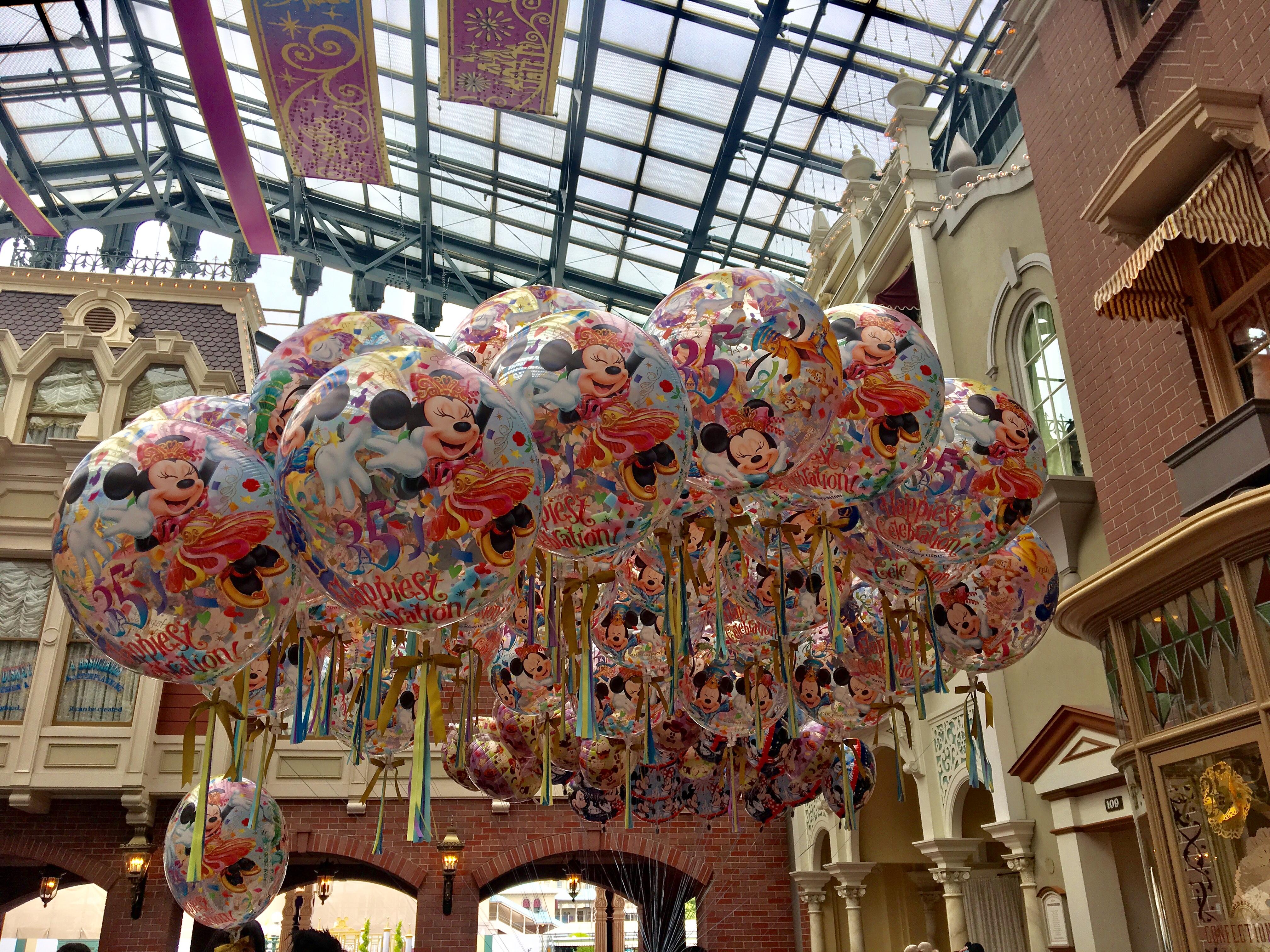 東京迪士尼氣球