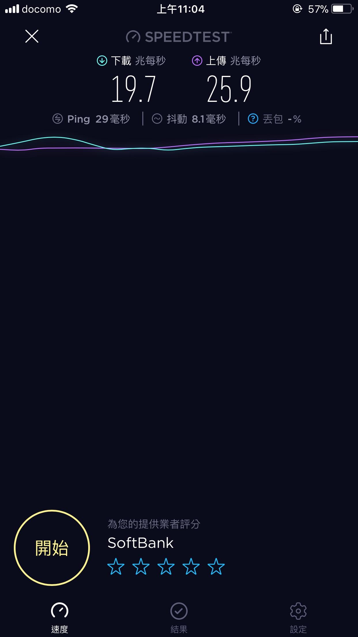 日本WIFI機測速