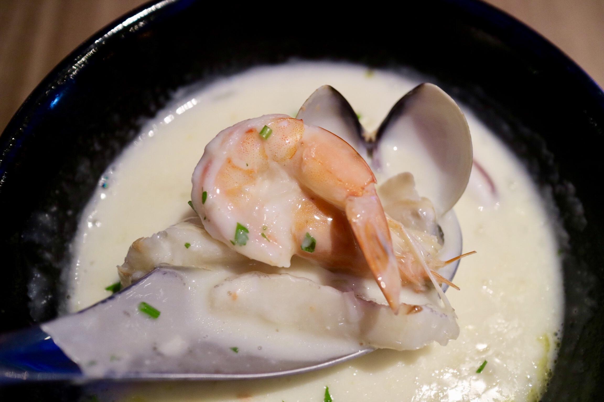 奶油海鮮濃湯