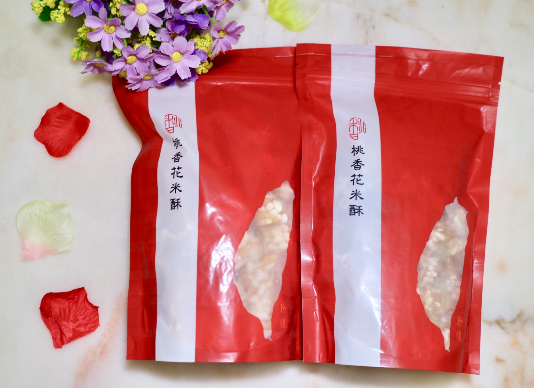 桃香花米酥