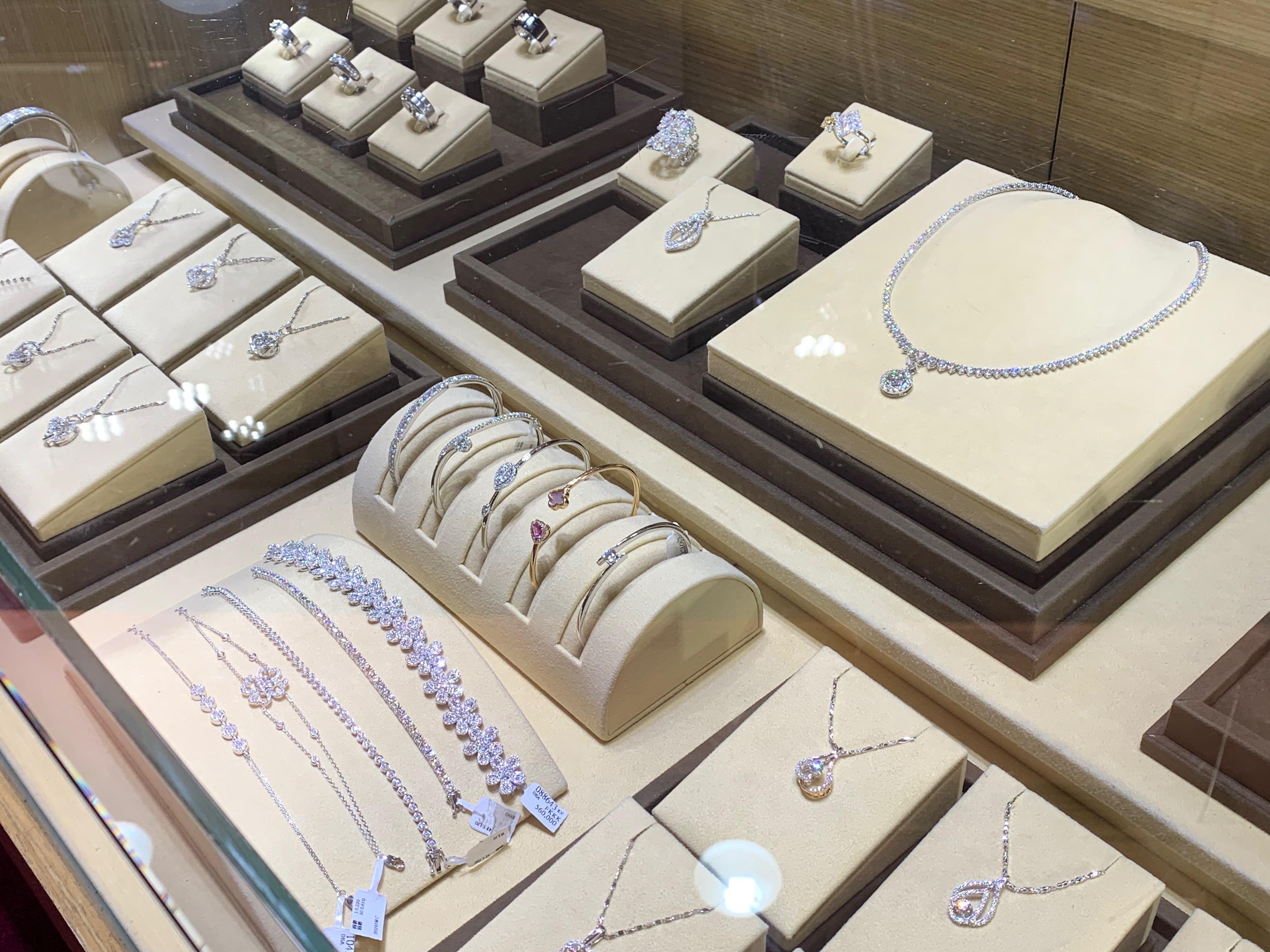 金長山珠寶-鑽石手鍊
