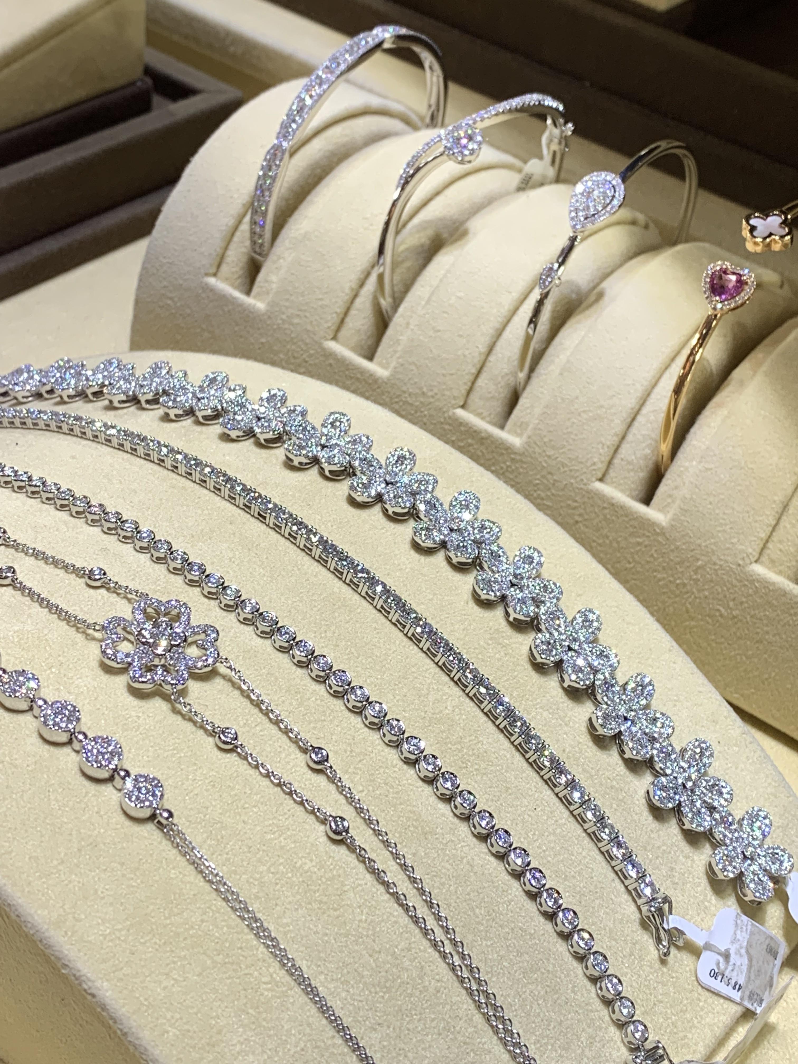 金長山珠寶-鑽石項鍊
