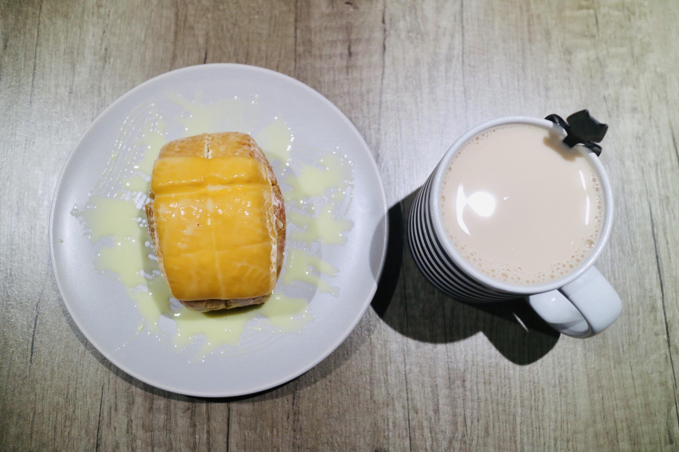煉乳炸饅頭